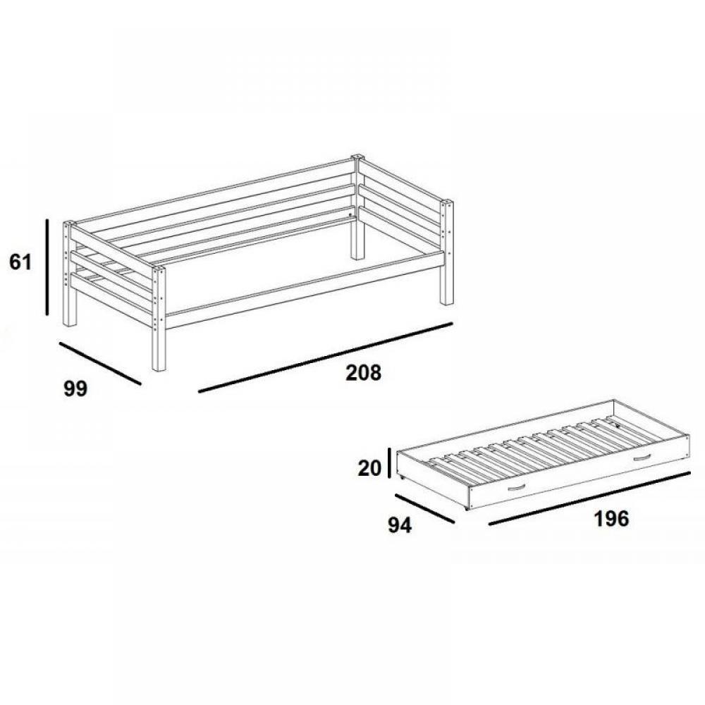 lit gigogne 90 affordable ikea lit gigogne avec x chaios com et hemnes day bed frame with e. Black Bedroom Furniture Sets. Home Design Ideas