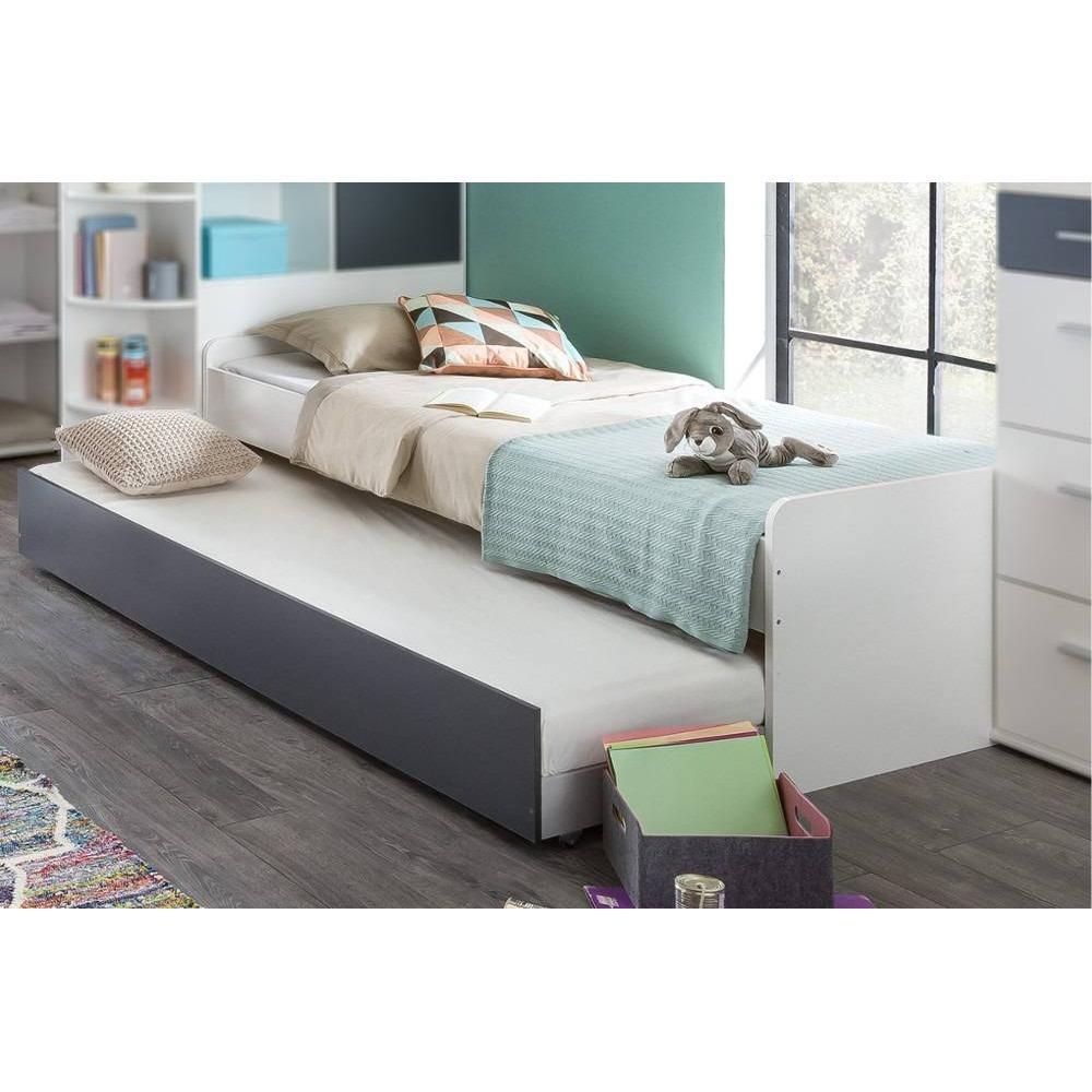 dressings et armoires meubles et rangements armoire dressing d 39 angle volverine blanc. Black Bedroom Furniture Sets. Home Design Ideas