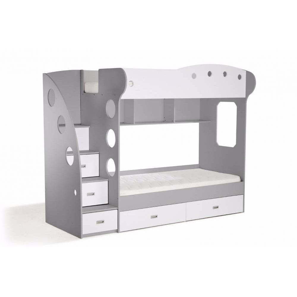 lits mezzanine chambre literie inside75. Black Bedroom Furniture Sets. Home Design Ideas