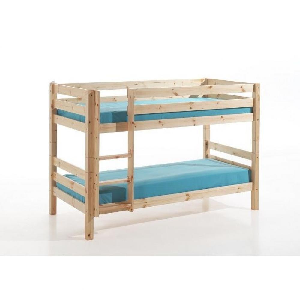 lits superpos s chambre literie lit superpos pino en. Black Bedroom Furniture Sets. Home Design Ideas