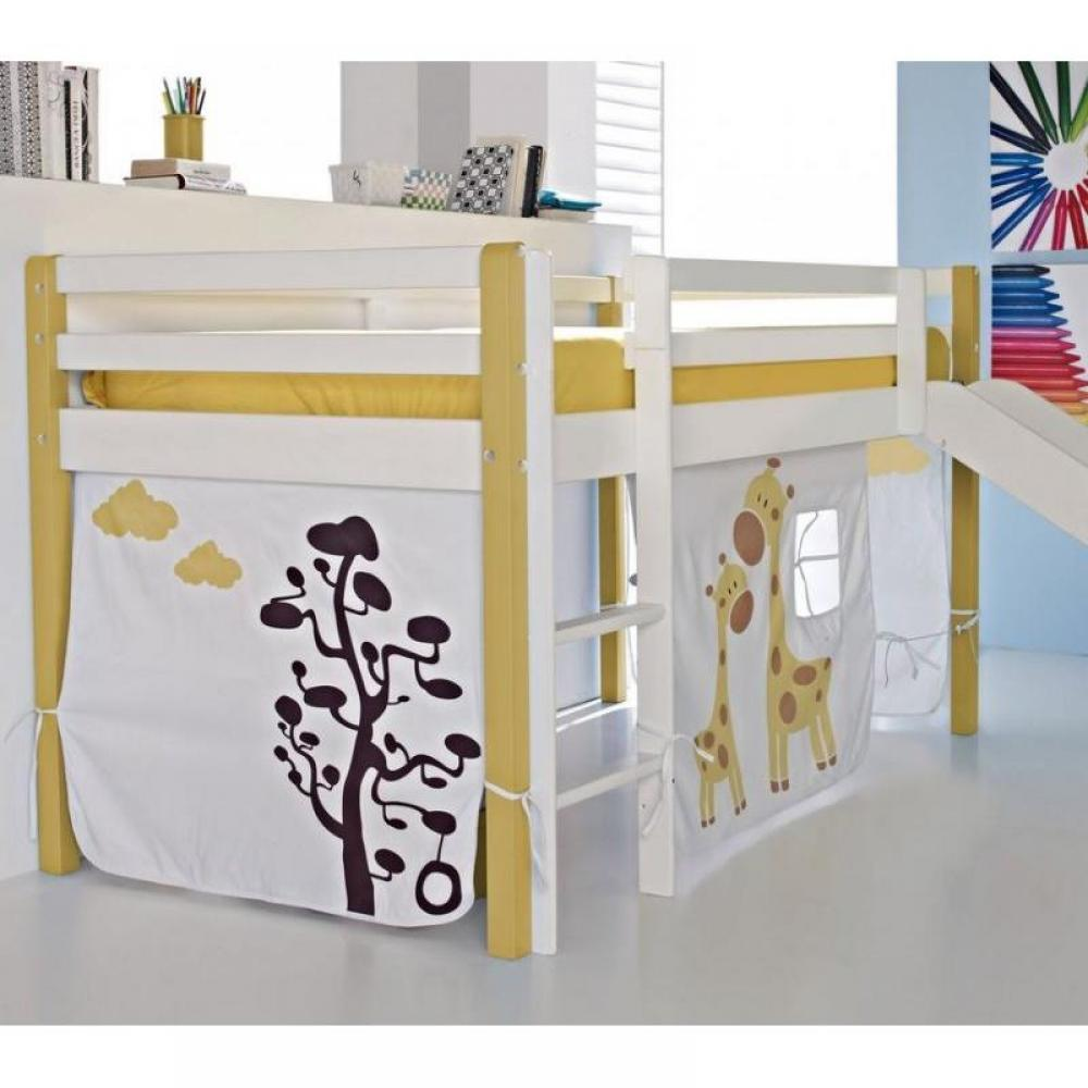 chambre enfant chambre literie lit sur lev aloha. Black Bedroom Furniture Sets. Home Design Ideas