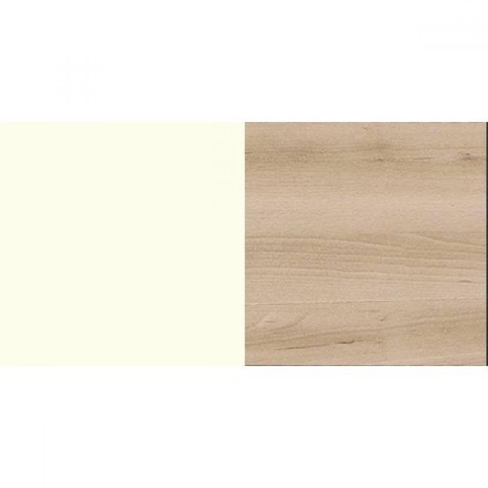 Lit THALIA blanc/hêtre noble
