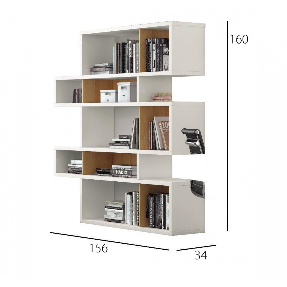 Bibliotheque Design Laquee Maison Design