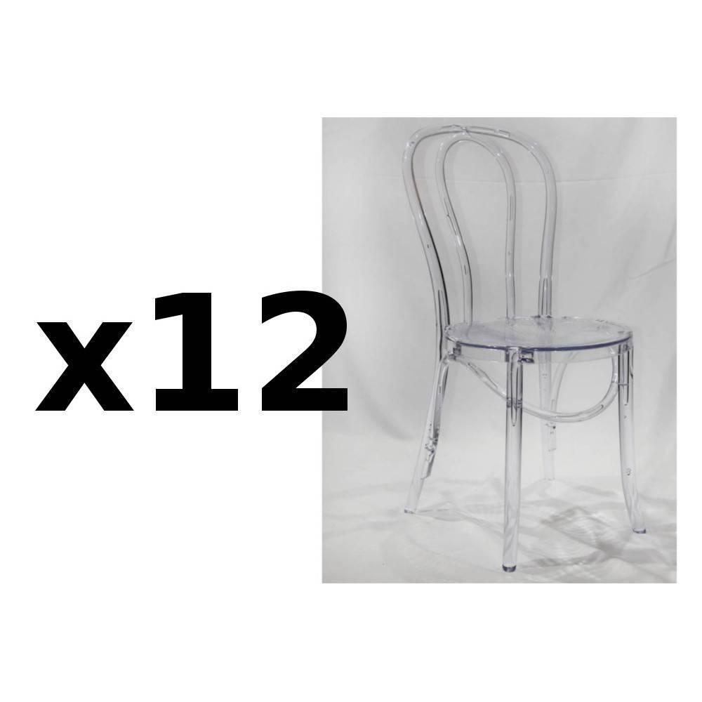 Chaise polycarbonate - Inside75 paris ...