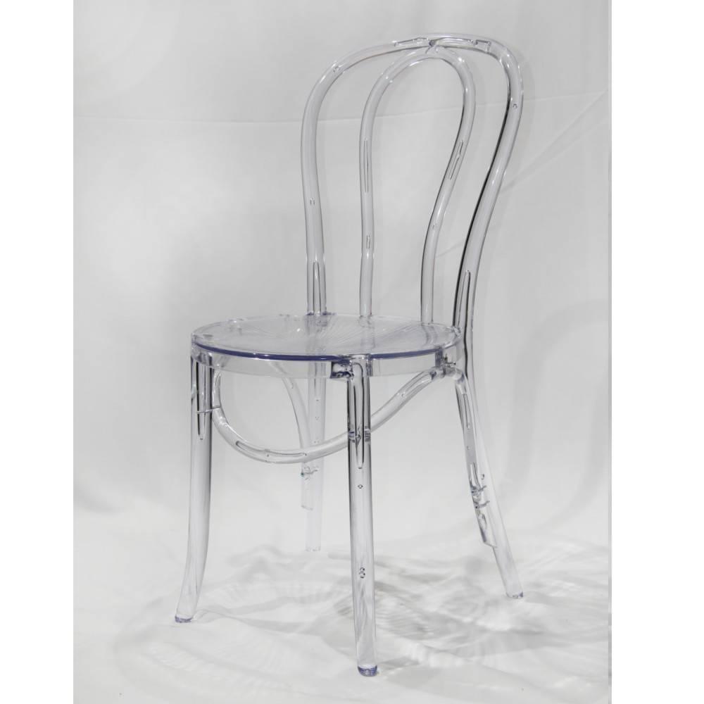 nos lots de chaise design lot de 12 chaises design bistrot paris en polycarbonate transparent. Black Bedroom Furniture Sets. Home Design Ideas