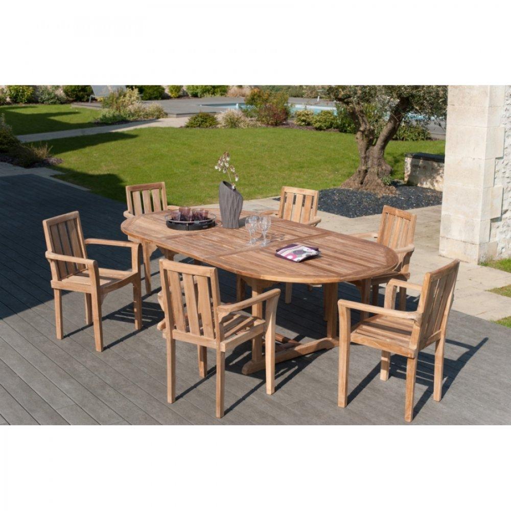 Chaise de jardin design confortable au meilleur prix - Table jardin teck massif fort de france ...