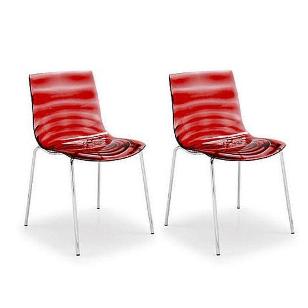 Lot De 2 Chaises Design L
