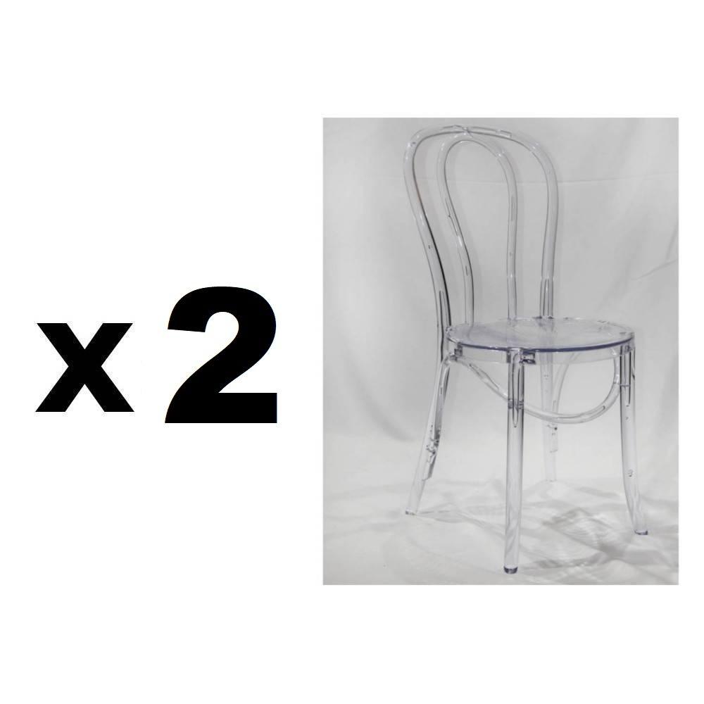 Nos Lots De Chaise Design Lot De 4 Chaises Design Bistrot PARIS En