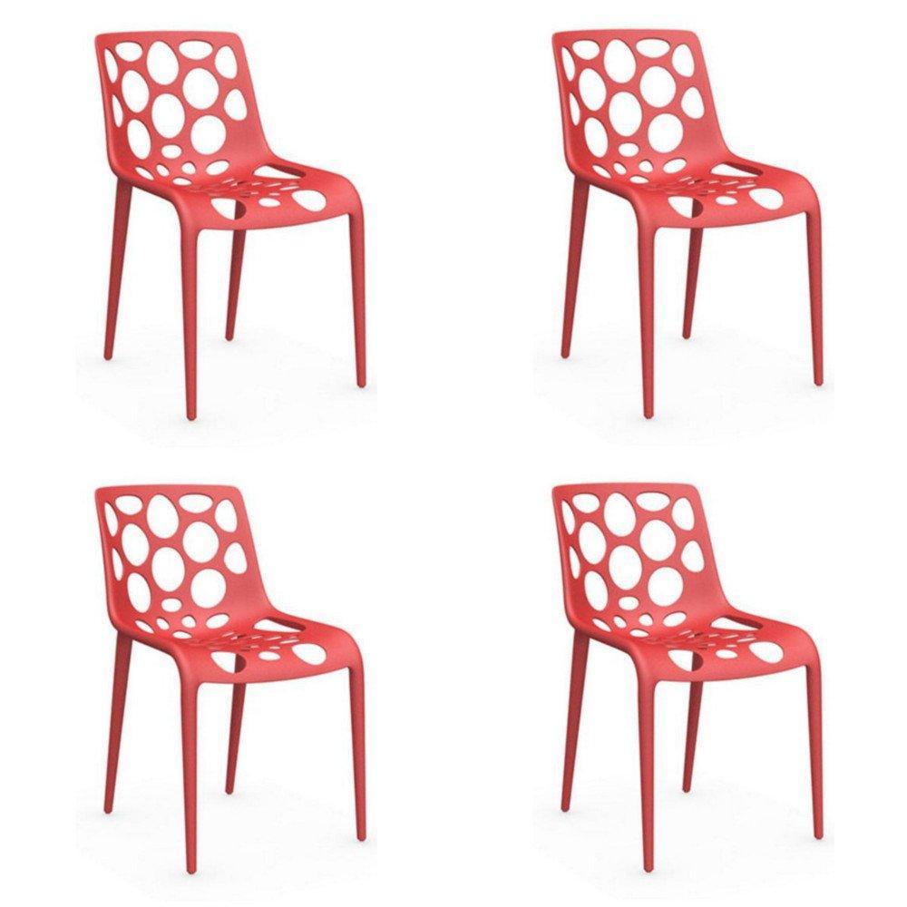 Ergonomique Et De Meilleur Chaise Design PrixLot Stylisée 4 Au Ybg7yf6