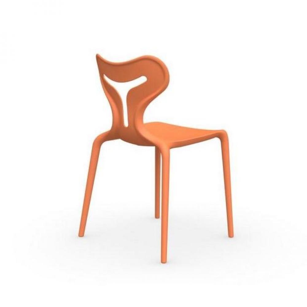 4 orange AREA 51 chaises empilables de Lot 6vIyf7Ybg