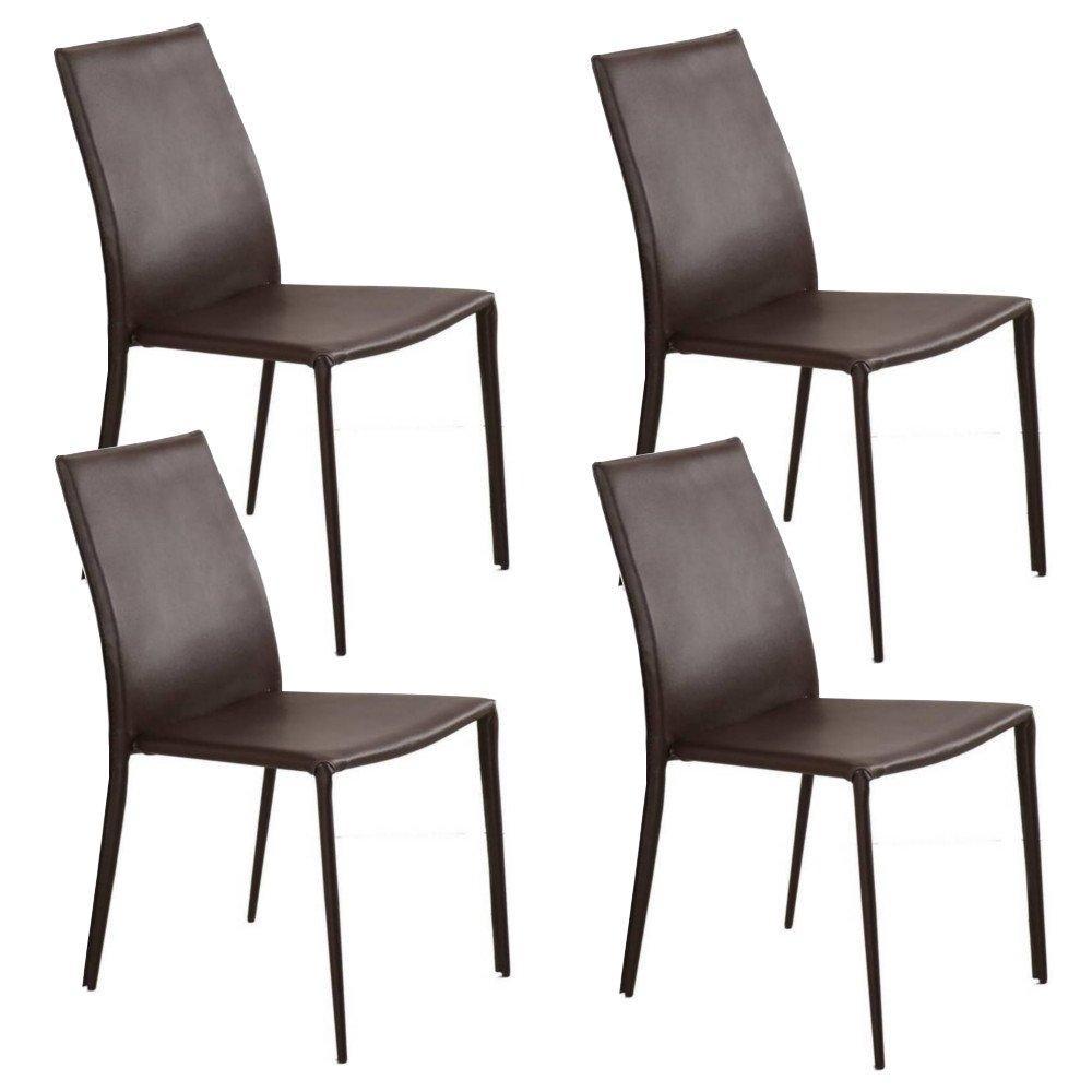 chaise design ergonomique et stylis e au meilleur prix lot de 4 chaises design polo en tissu. Black Bedroom Furniture Sets. Home Design Ideas