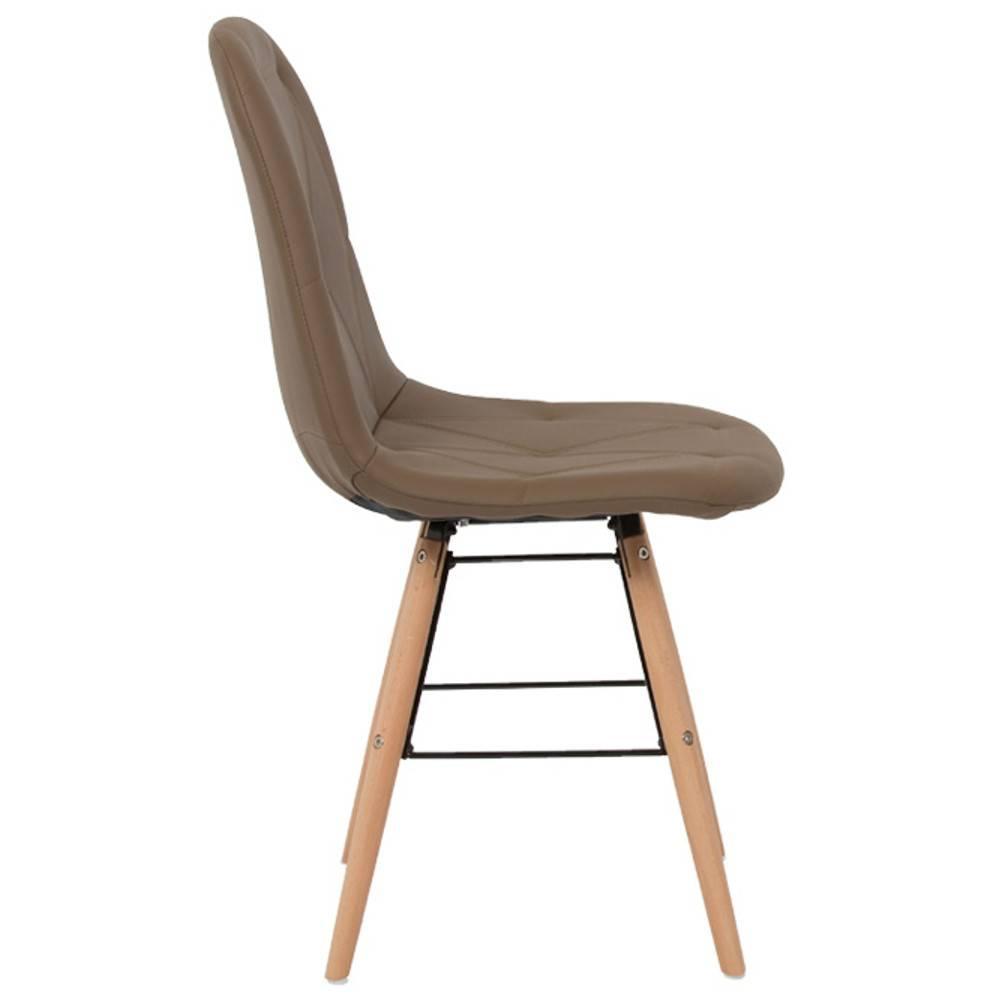 Nos lots de chaise design lot de 4 chaises design for Lot 4 chaises taupe