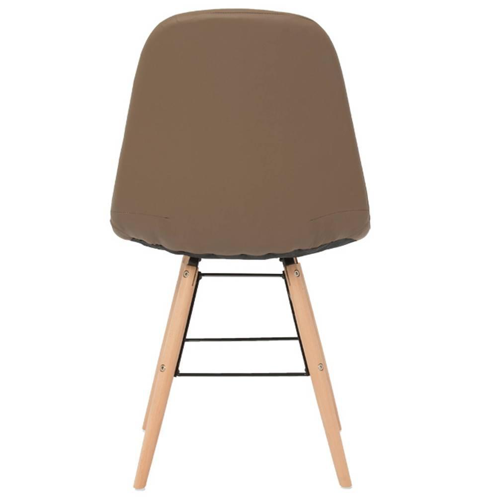 Canap s convertibles ouverture rapido lot de 4 chaises for Lot 4 chaises taupe