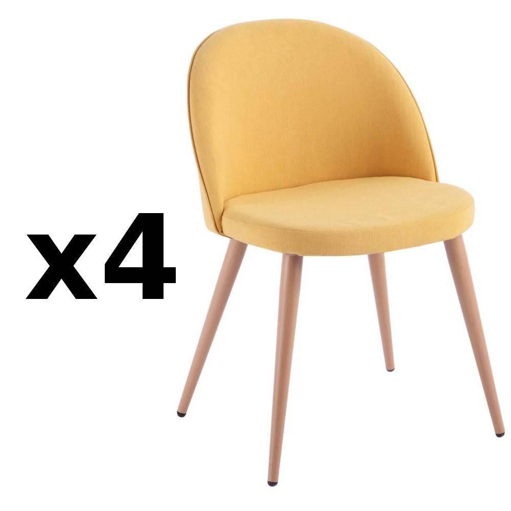 Chaise Design Ergonomique Et Stylisee Au Meilleur Prix Lot De 4