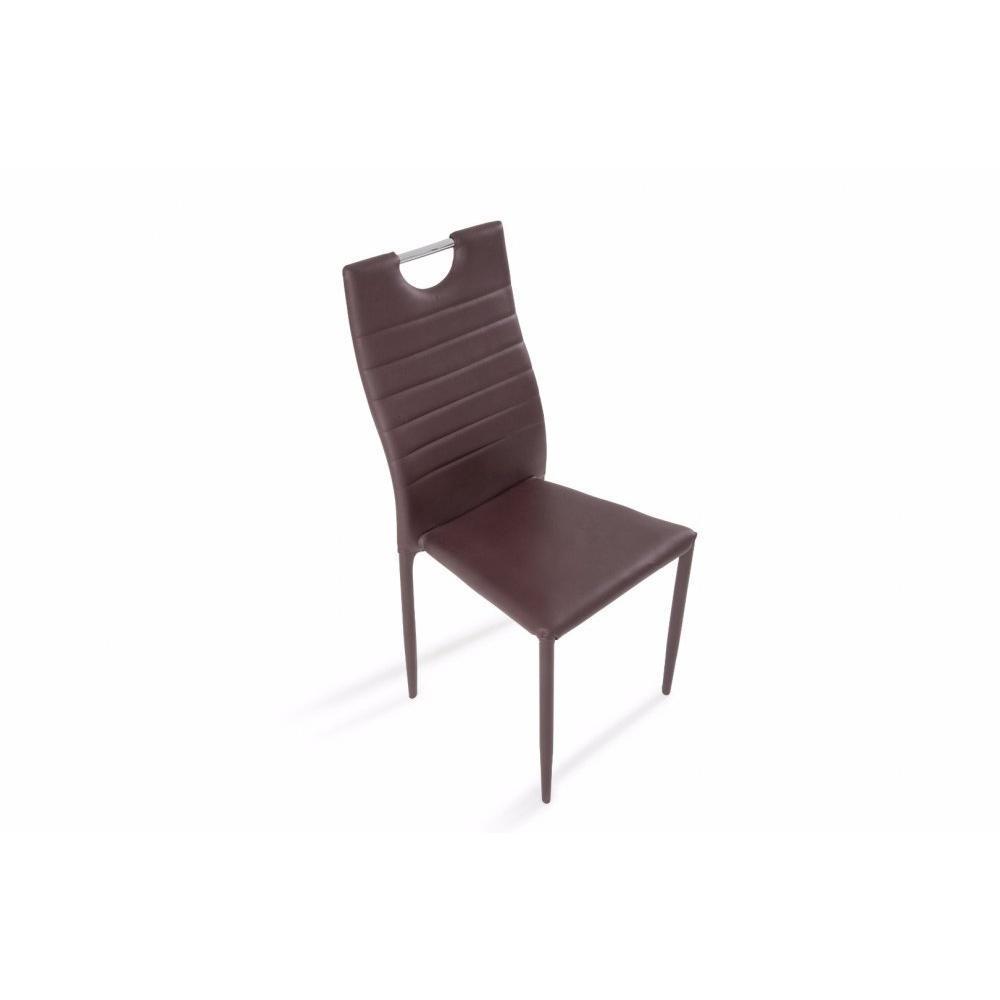 canap convertible au meilleur prix lot de 6 chaises design elena rev tement polyur thane. Black Bedroom Furniture Sets. Home Design Ideas
