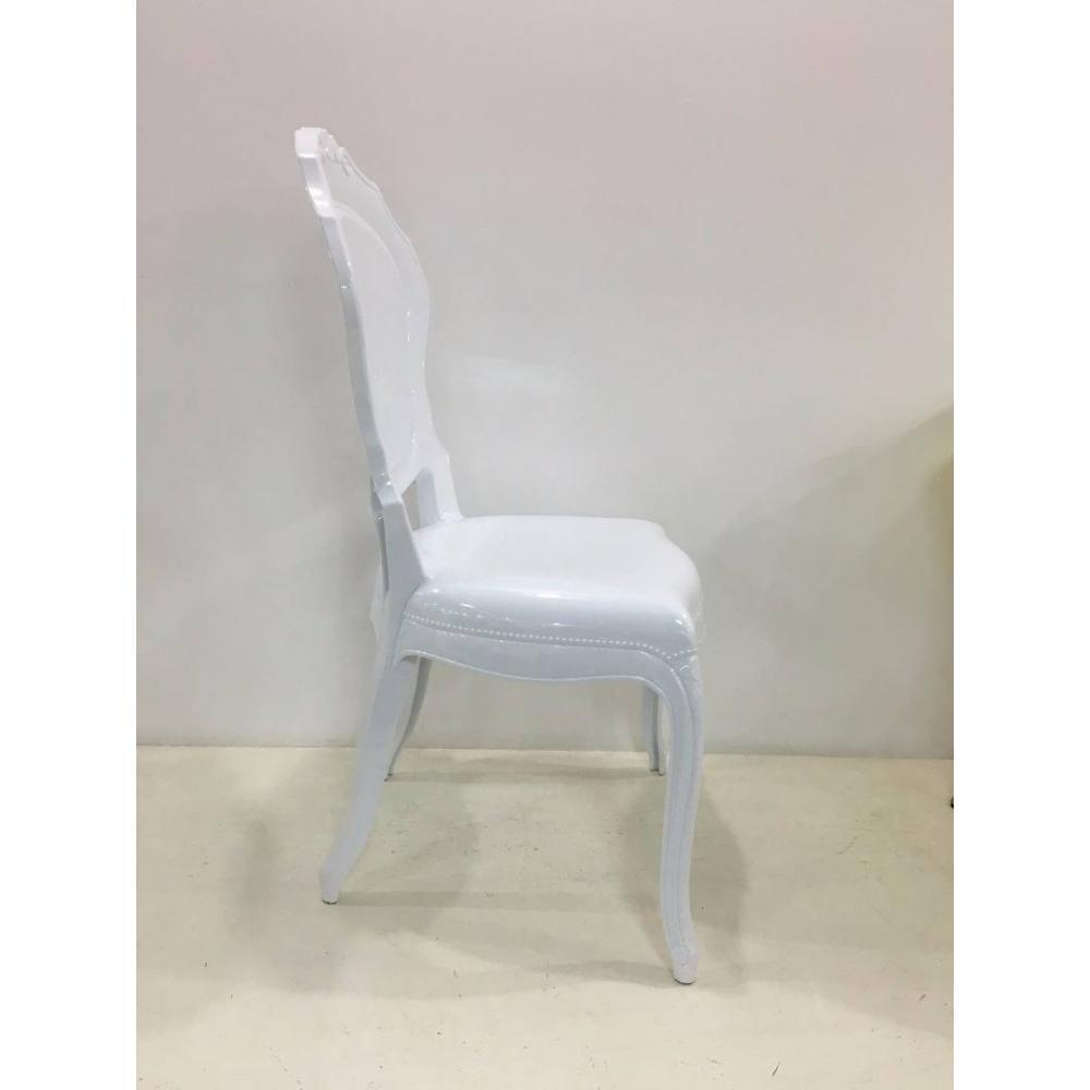 Chaise design ergonomique et stylis e au meilleur prix lot de 6 chaises design napoleon en - Chaise design polycarbonate ...