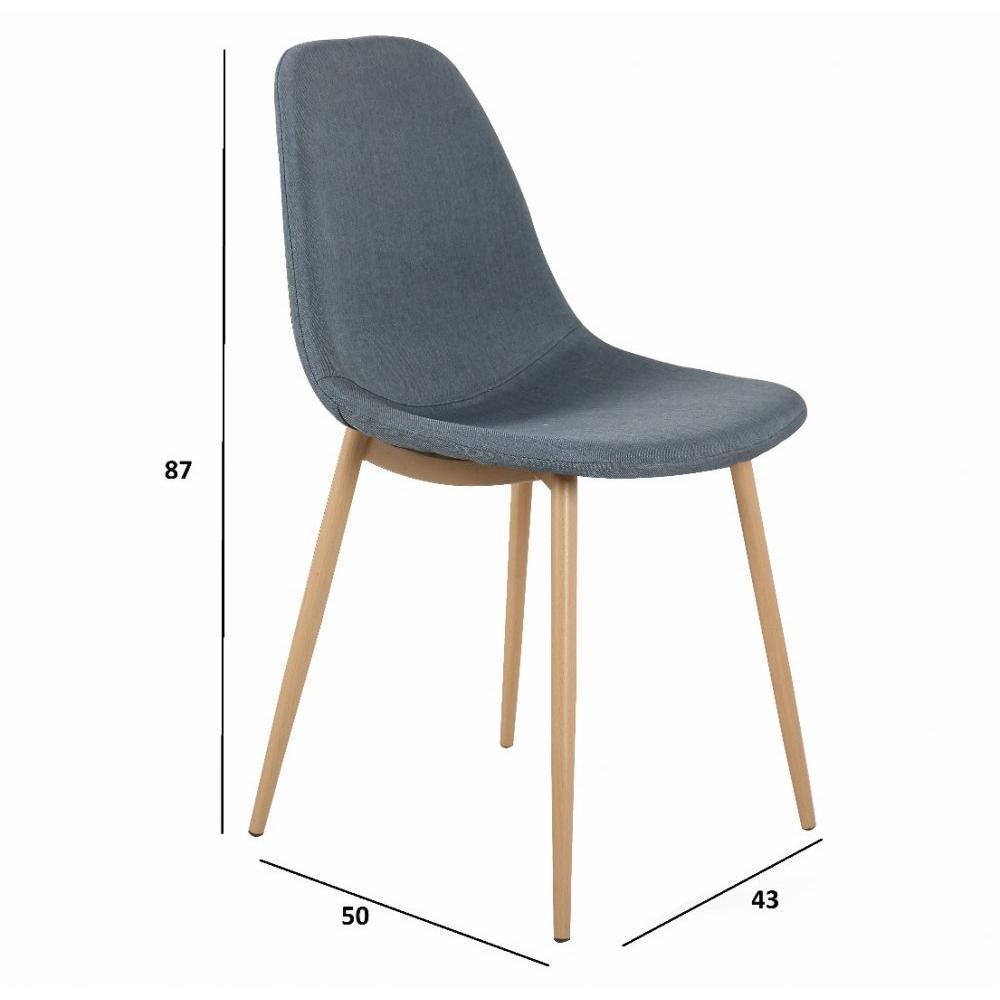 Chaise design ergonomique et stylis e au meilleur prix for 6 chaises scandinaves