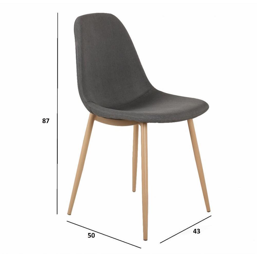 chaise design ergonomique et stylis e au meilleur prix lot de 6 chaises stockholm design. Black Bedroom Furniture Sets. Home Design Ideas