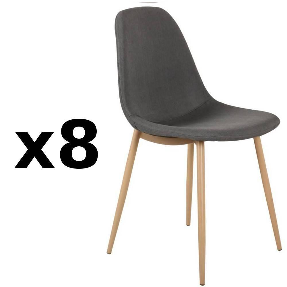 chaise design ergonomique et stylis e au meilleur prix lot de 8 chaises stockholm design. Black Bedroom Furniture Sets. Home Design Ideas