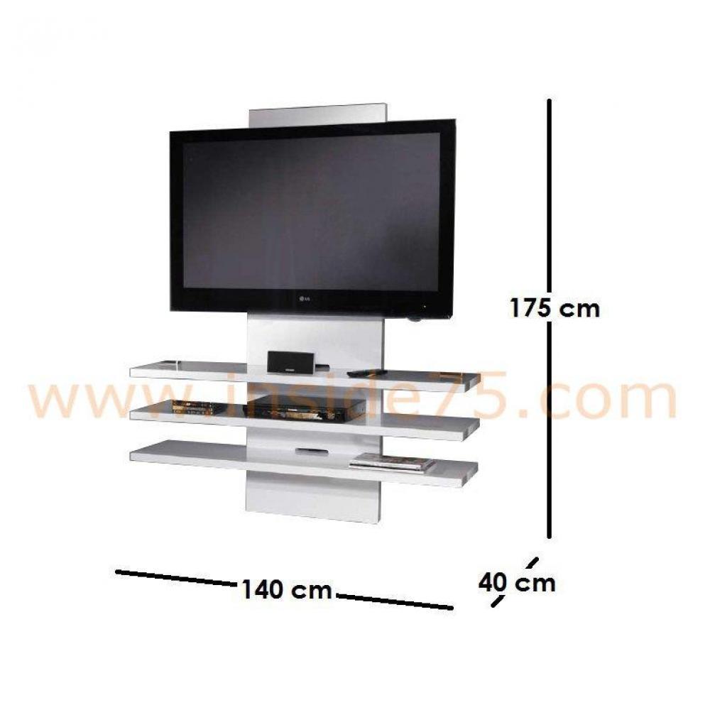 Meubles Tv Meubles Et Rangements Lucarne Meuble Tv Design Laqué