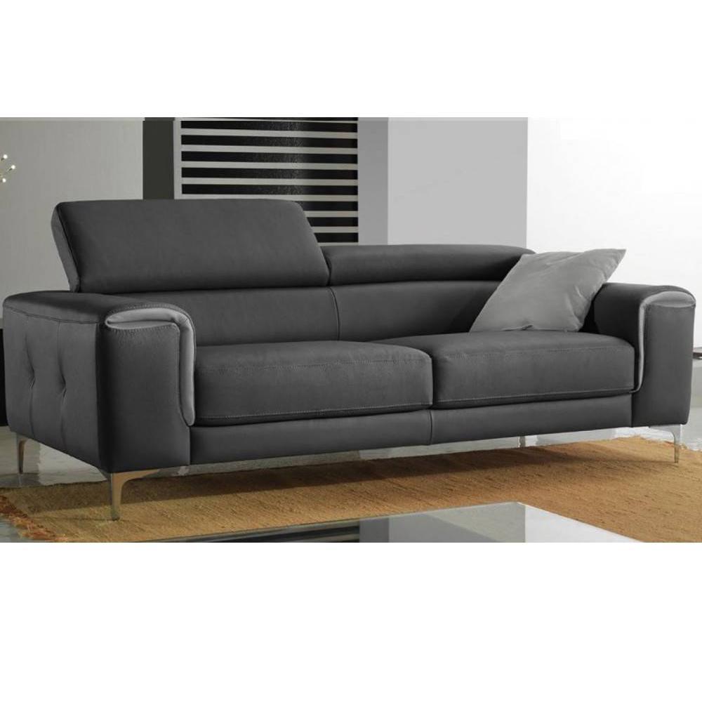 canap fixe confortable design au meilleur prix canap fixe italien luna 204 cm inside75. Black Bedroom Furniture Sets. Home Design Ideas
