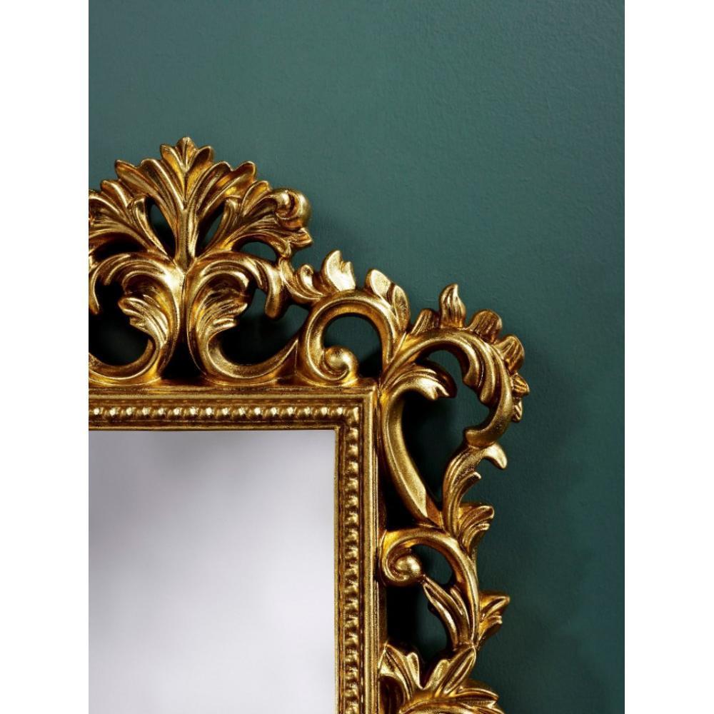 Miroirs meubles et rangements lys miroir mural design or - Miroir design belgique ...