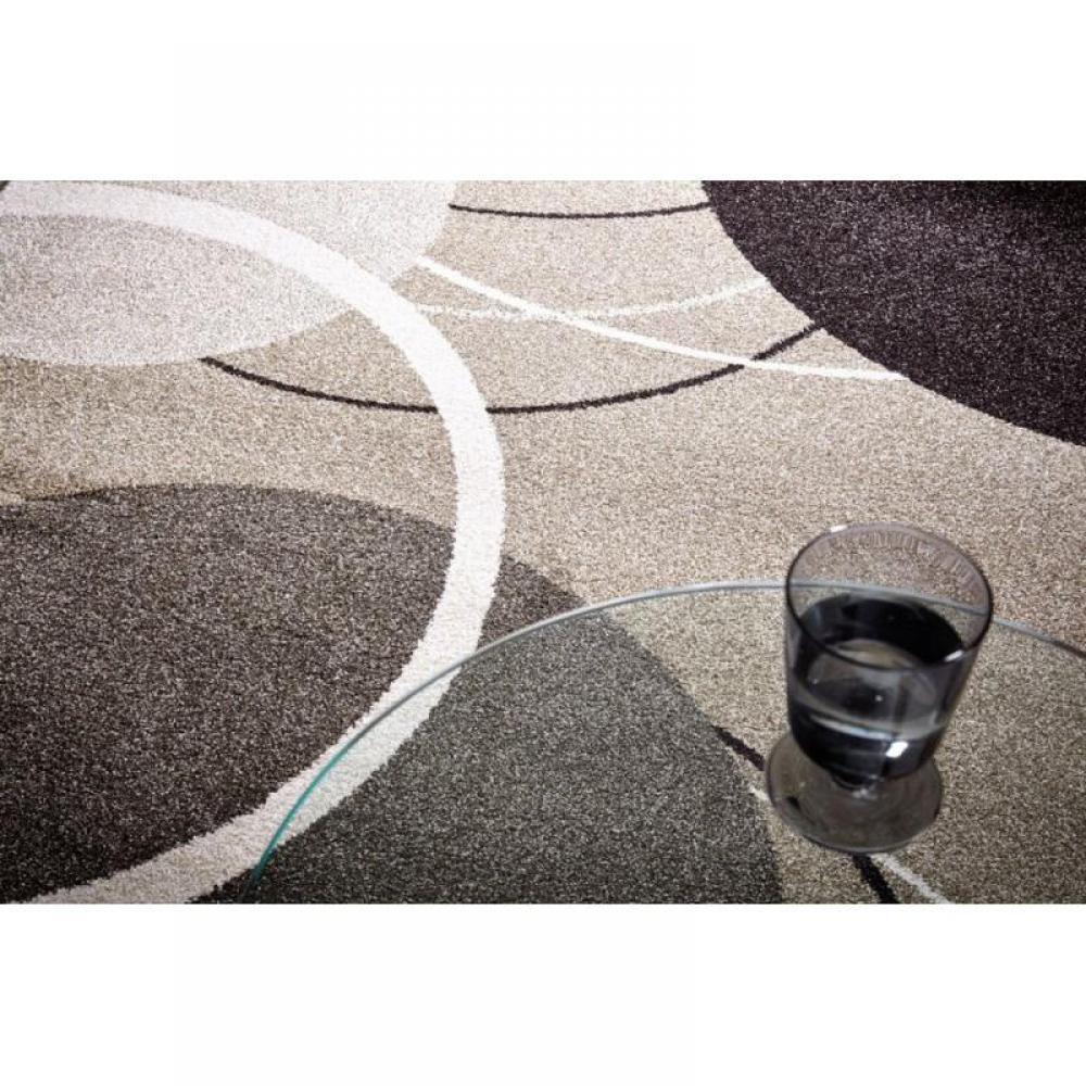 tapis de sol meubles et rangements maison tapis patchwork marron taupe 140x200 cm inside75. Black Bedroom Furniture Sets. Home Design Ideas