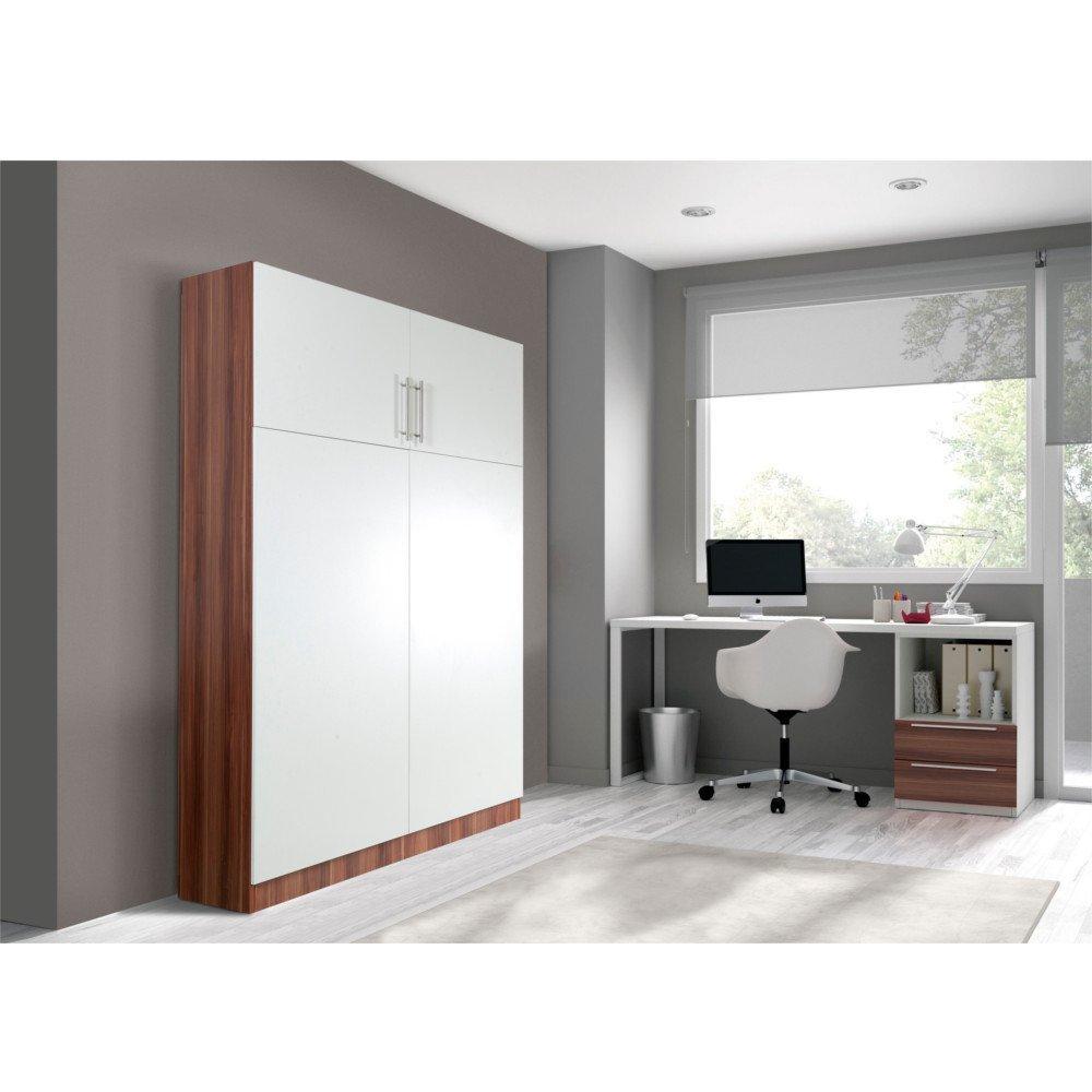 armoire lit simple escamotable 1 personne au meilleur prix armoire lit marseille couchage 90. Black Bedroom Furniture Sets. Home Design Ideas