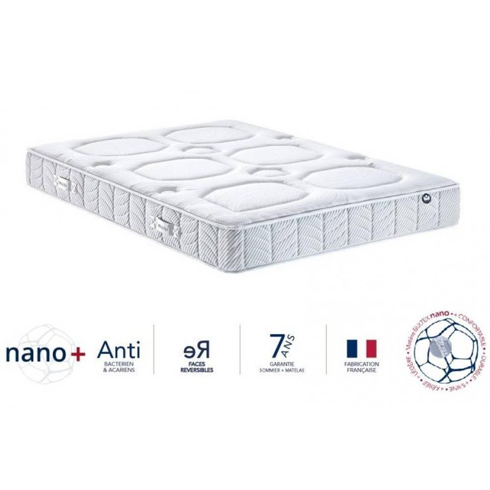 matelas chambre literie bultex matelas 70 190 23cm i novo 921 inside75. Black Bedroom Furniture Sets. Home Design Ideas