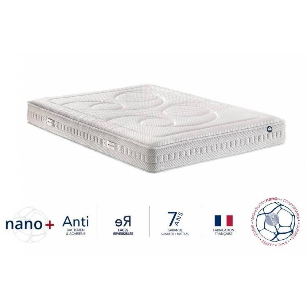 matelas chambre literie bultex matelas i novo 940 m moire de forme longueur couchage 200cm. Black Bedroom Furniture Sets. Home Design Ideas