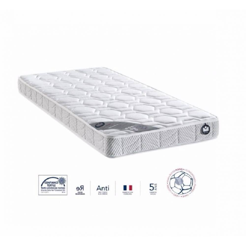 matelas chambre literie bultex matelas 80 200 cm i novo 10 paisseur 16 cm inside75. Black Bedroom Furniture Sets. Home Design Ideas