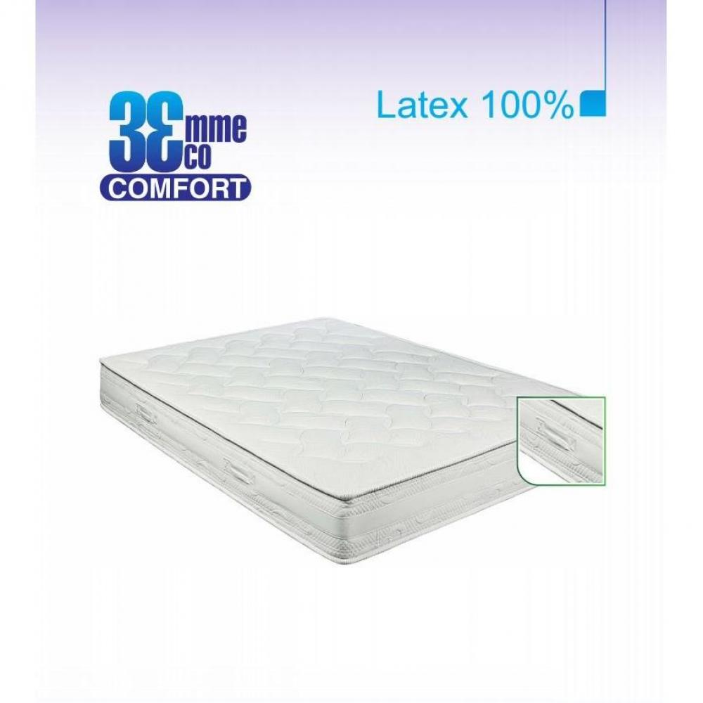 Matelas Eco-Confort  100% latex 7 Zones  90 * 200 * 22