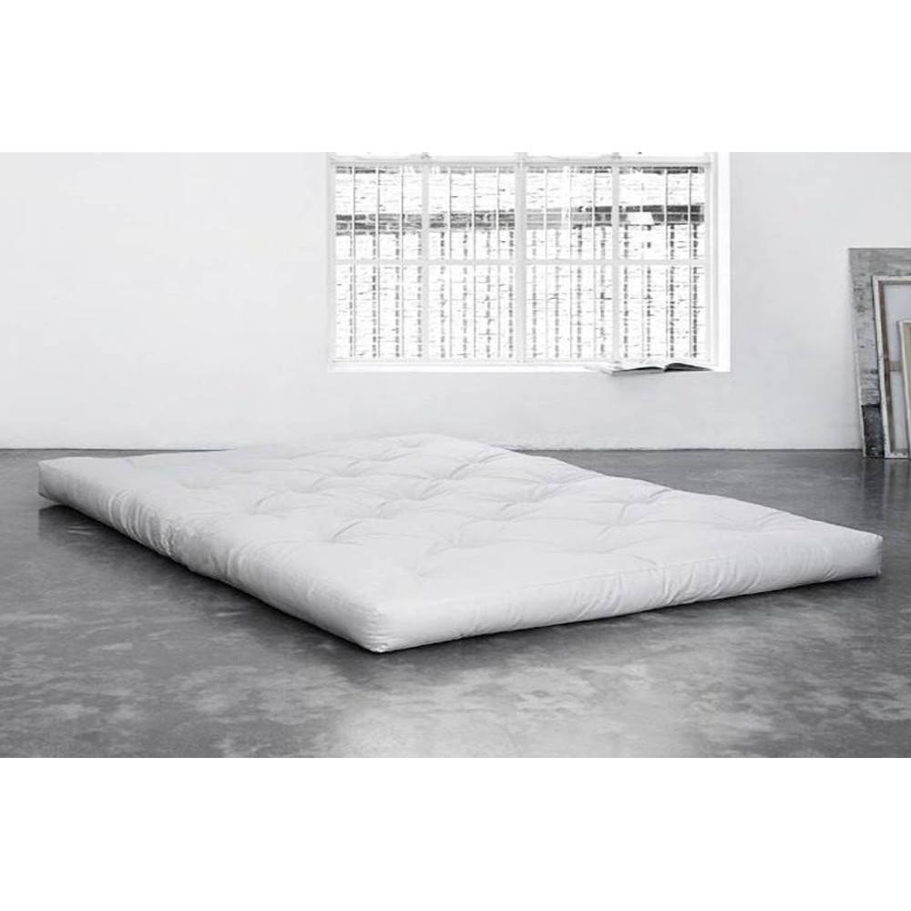 Matelas chambre literie matelas futon coco 100 200 16cm inside75 - Matelas futon 1 place ...