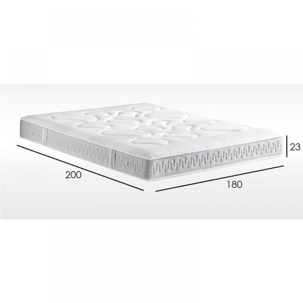 matelas treca chambre literie matelas treca aurora 180 200 cm suspension air spring 500. Black Bedroom Furniture Sets. Home Design Ideas