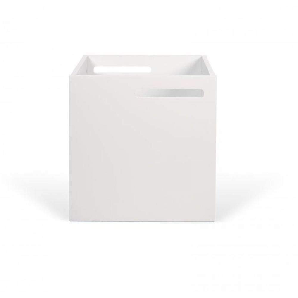 BERLIN boite design blanche. Boite pour étagère BERLIN.PETITS PLUS PRODUIT : - Un procédé de conception et d'usinage high