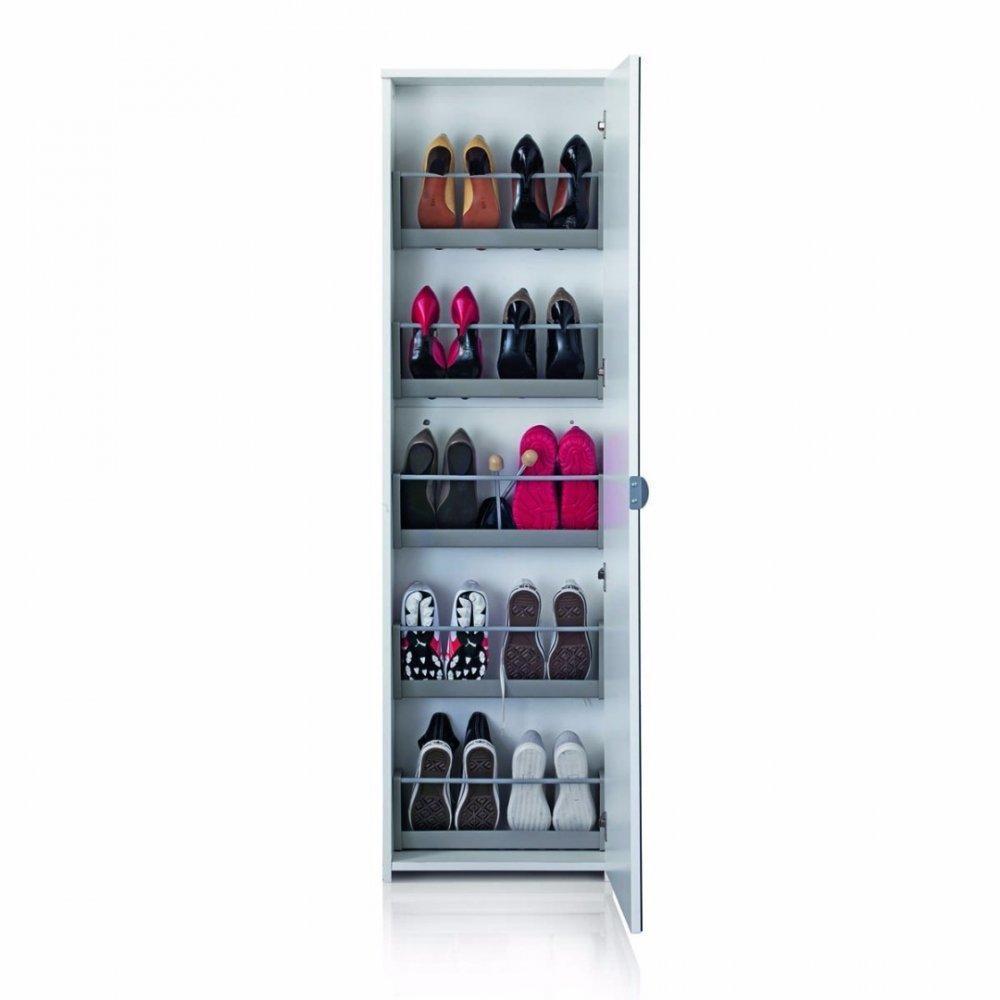 meubles chaussures meubles et rangements meuble chaussures mirror blanc inside75. Black Bedroom Furniture Sets. Home Design Ideas