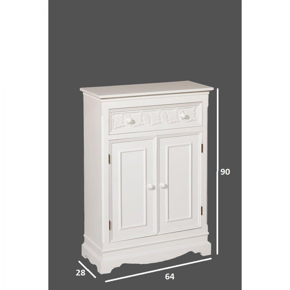 Buffets meubles et rangements meuble 2 portes 1 tiroir for Meuble 2 portes 1 tiroir
