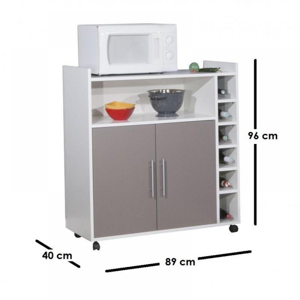 Meubles cuisine meubles et rangements desserte range - Meuble cuisine sur roulette ...