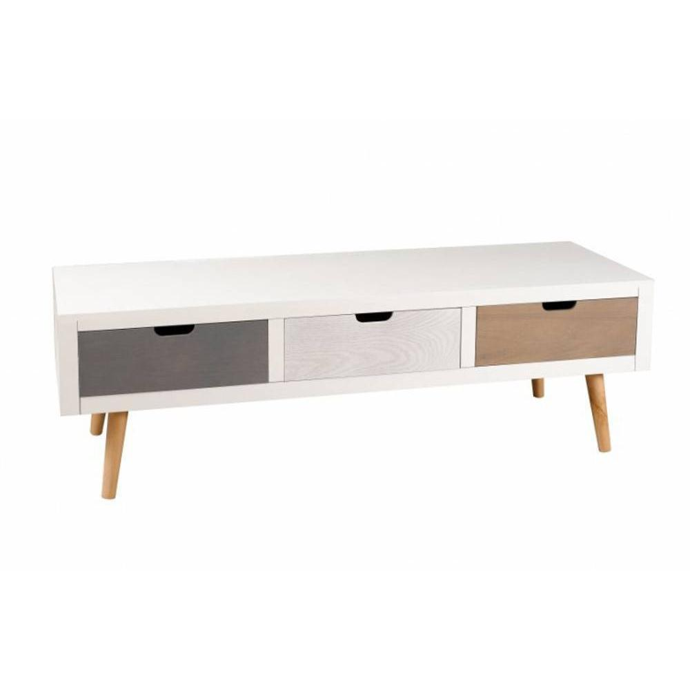 Meuble Tv Industriel Maison Du Monde Cool Awesome Dco Meubles  # Meuble Tv Industriel Blanc