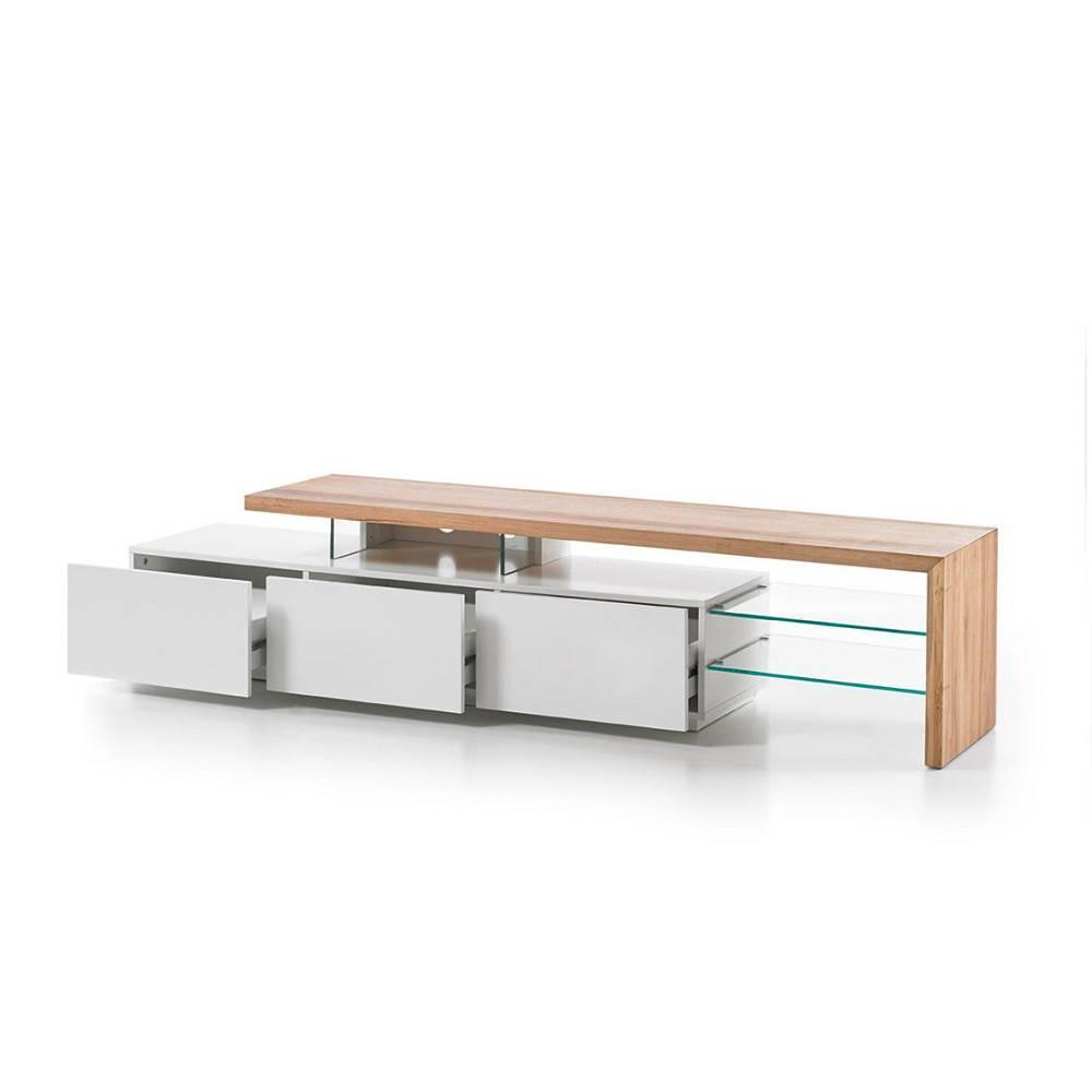 meubles tv meubles et rangements meuble tv design alrik. Black Bedroom Furniture Sets. Home Design Ideas