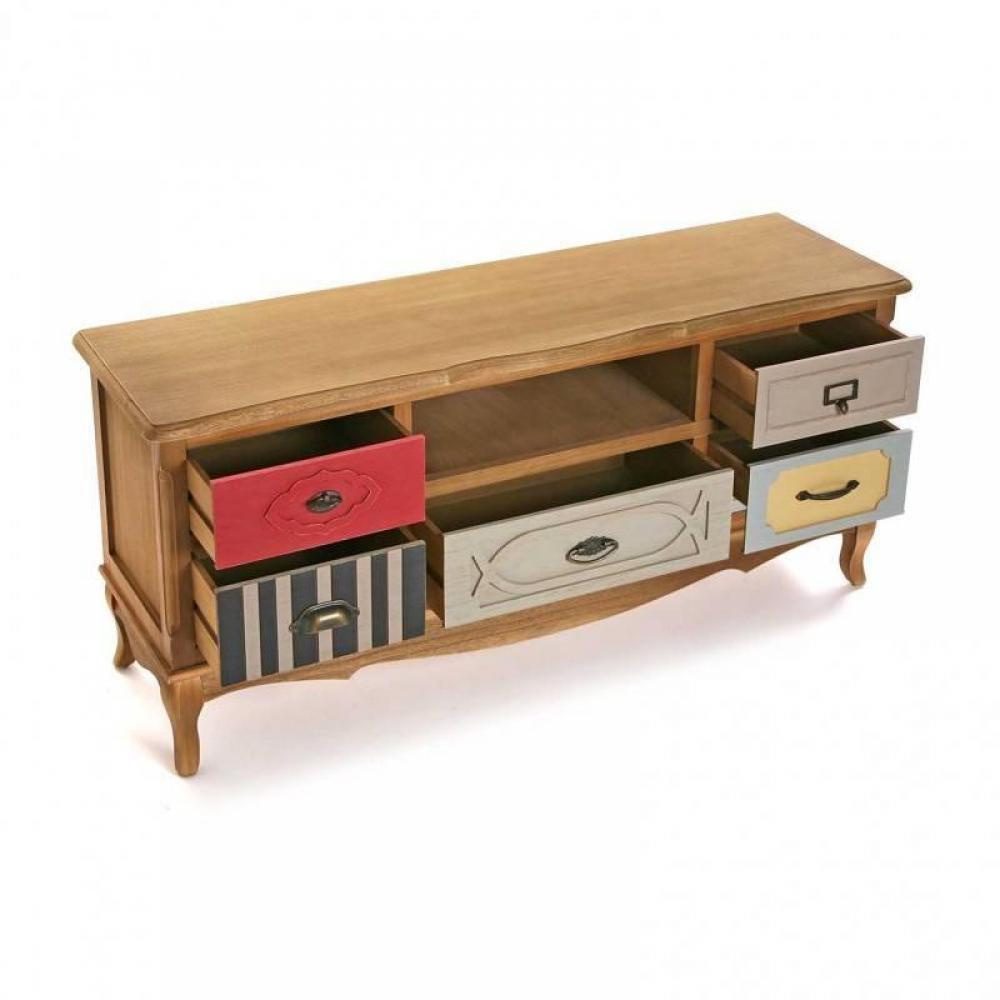 meubles tv meubles et rangements meuble tv barokia 3. Black Bedroom Furniture Sets. Home Design Ideas