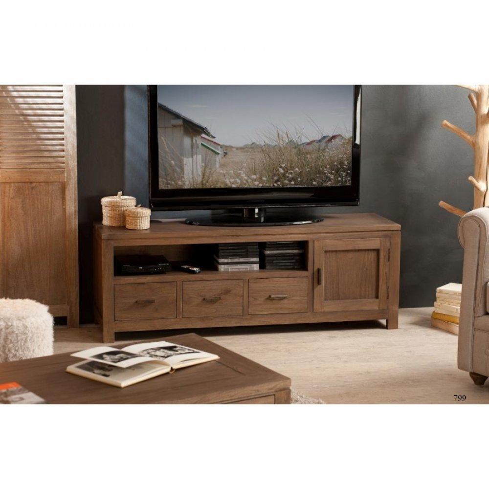 meubles tv meubles et rangements meuble tv bas laura 3. Black Bedroom Furniture Sets. Home Design Ideas