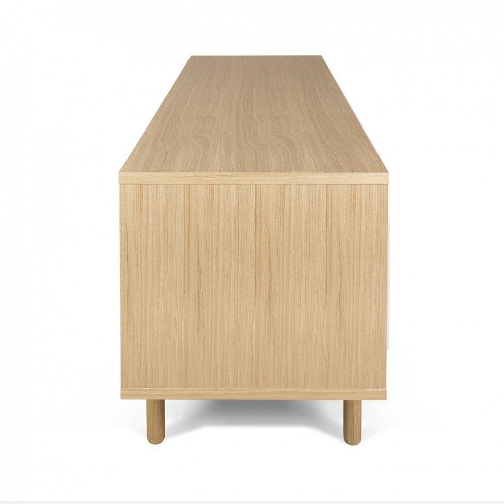 meubles tv meubles et rangements meuble tv dann ch ne avec 2 portes coulissantes inside75. Black Bedroom Furniture Sets. Home Design Ideas