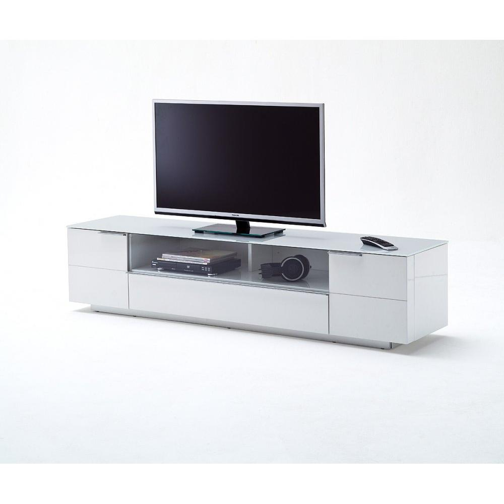 Table basse carr e ronde ou rectangulaire au meilleur prix meuble bas tv cambridge blanc laqu - Meuble tv laque blanc brillant ...