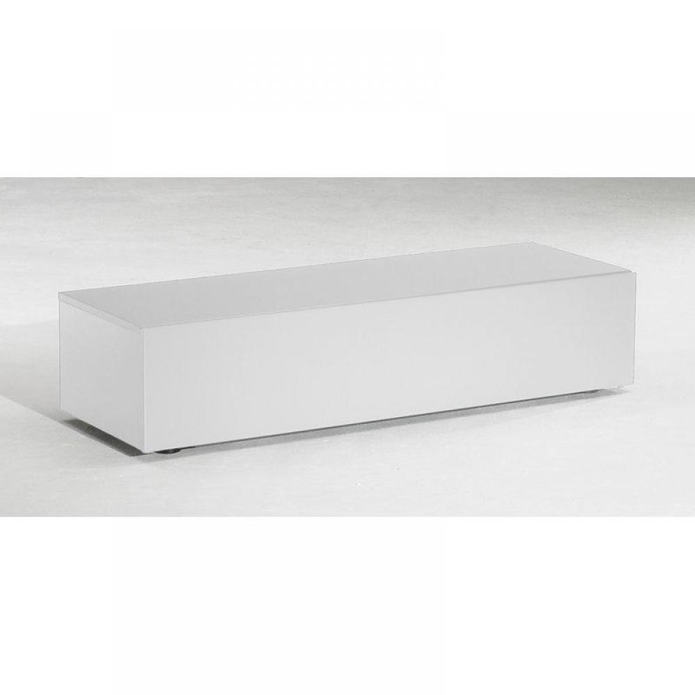 Meubles Tv Meubles Et Rangements Meuble Tv Design Delta Blanc 1