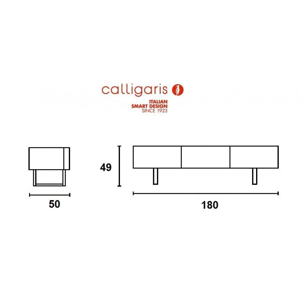 Meubles Tv Meubles Et Rangements Calligaris Meuble Tv Design  # Meuble Tv Wenge Design