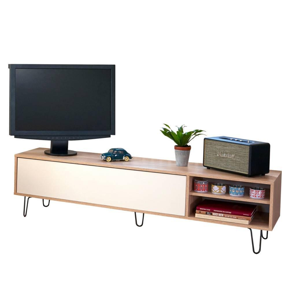 Meubles Tv Meubles Et Rangements Meuble Tv Design Scandinave  # Meuble Tv Design Chene