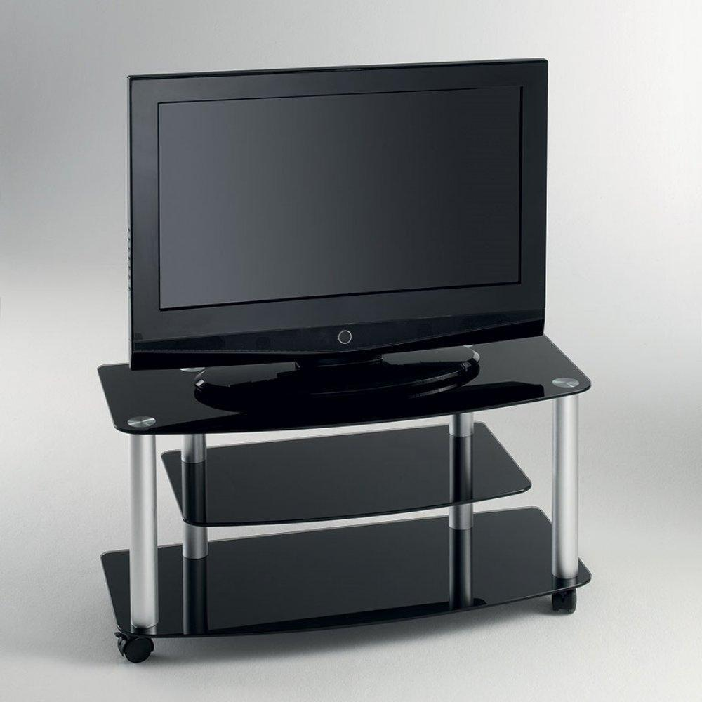 meubles tv meubles et rangements meuble tv effel verre. Black Bedroom Furniture Sets. Home Design Ideas