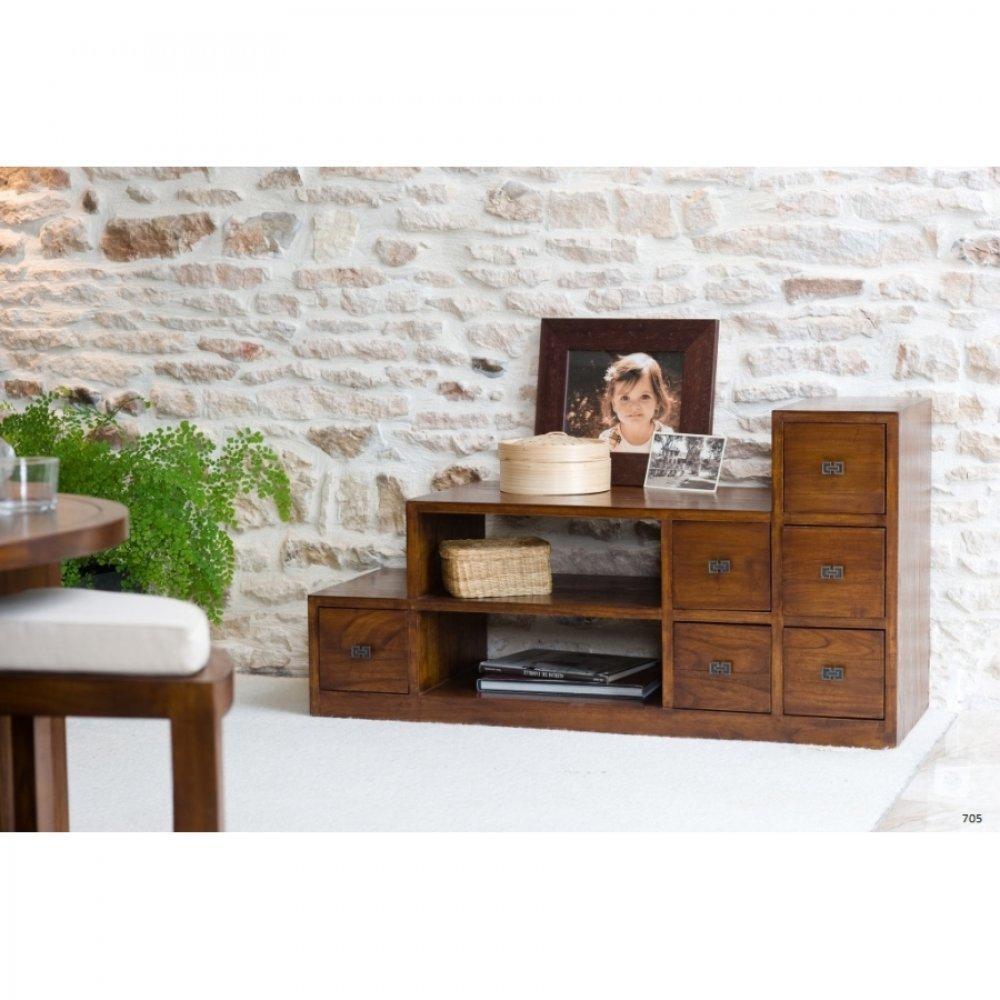 meubles tv meubles et rangements meuble tv lauren en escalier lorine en mindi inside75. Black Bedroom Furniture Sets. Home Design Ideas
