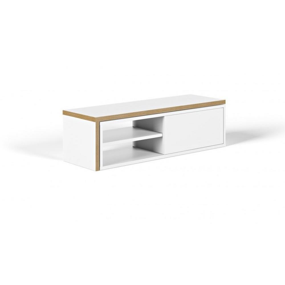 Meubles tv meubles et rangements temahome meuble tv for Meuble avec porte coulissante